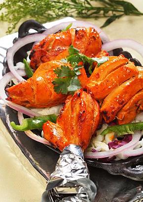 Tandori csirke (India)