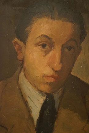 Francois Fiedler önarckép