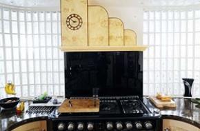 Art deco a konyhában, az étkezőben