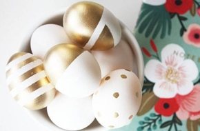 Húsvéti tojás - Gold and Rose