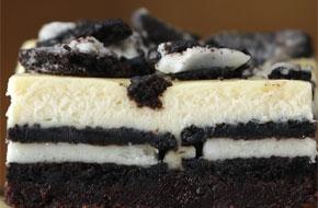 Brownies sajttorta