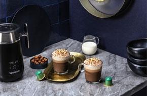 Caffe torta di nocciole