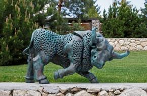 Magyar szobrok az Albrizzi-Capello palotában
